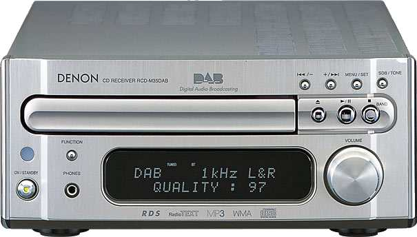 Denon RCDM35DA main unit for the DM35 DAB mini system