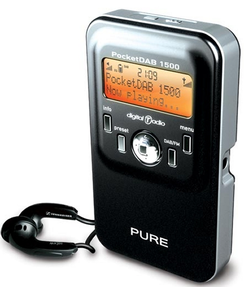 Pure Pocket DAB 1500 DAB/FM radio