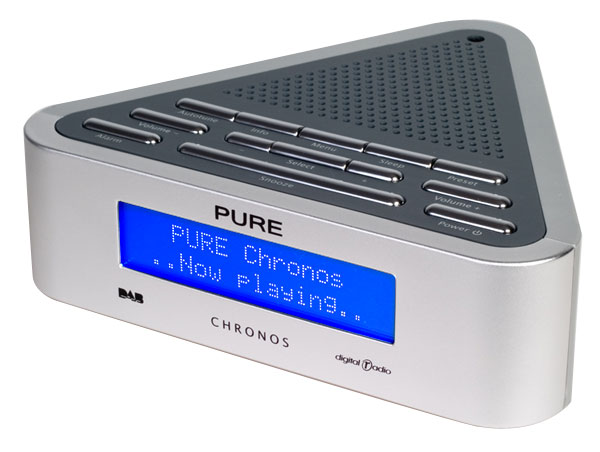 radio pure chronos dab digital alarm clock radio. Black Bedroom Furniture Sets. Home Design Ideas