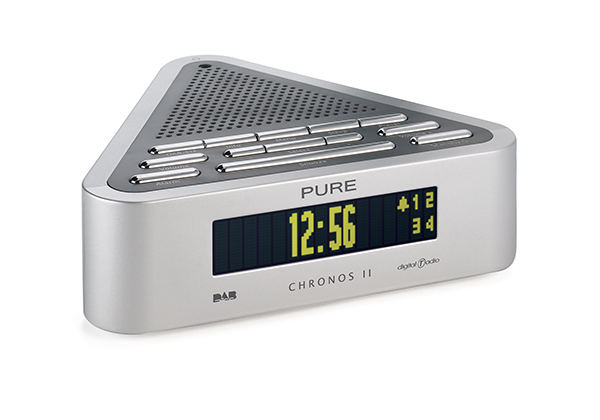 radio pure chronos ii dab alarm clock upgradeable dab radio. Black Bedroom Furniture Sets. Home Design Ideas