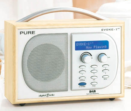 radio review pure evoke 1xt dab digital radio. Black Bedroom Furniture Sets. Home Design Ideas