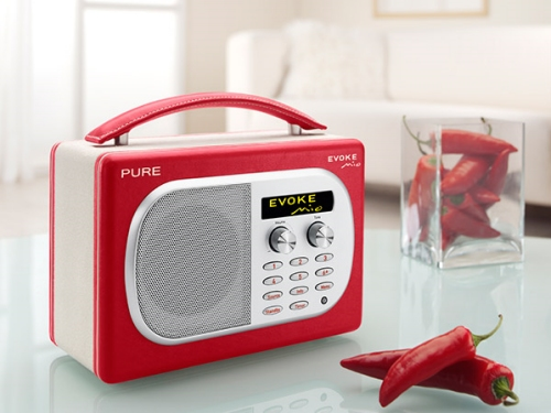 pure evoke mio dab fm radio radio. Black Bedroom Furniture Sets. Home Design Ideas