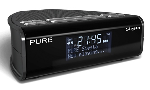 radio pure siesta dab alarm clock radio. Black Bedroom Furniture Sets. Home Design Ideas