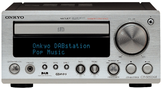 onkyo CS220UK CR-505DAB tuner receiver