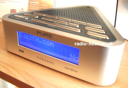 pure chronos dab clock alarm radio radio review. Black Bedroom Furniture Sets. Home Design Ideas