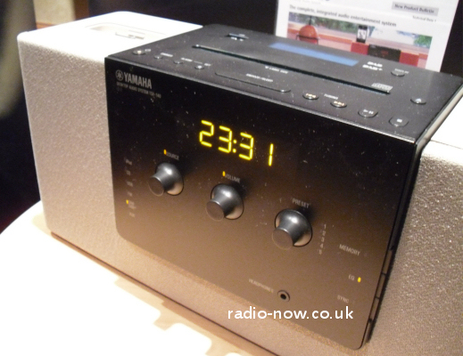 yamaha tsx140 tabletop dab ipod cd receiver all in one. Black Bedroom Furniture Sets. Home Design Ideas
