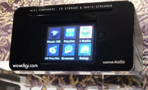 Cocktail Audio x10 screen