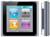 New Apple iPod Nano series music player featuring FM radio and multi-touch