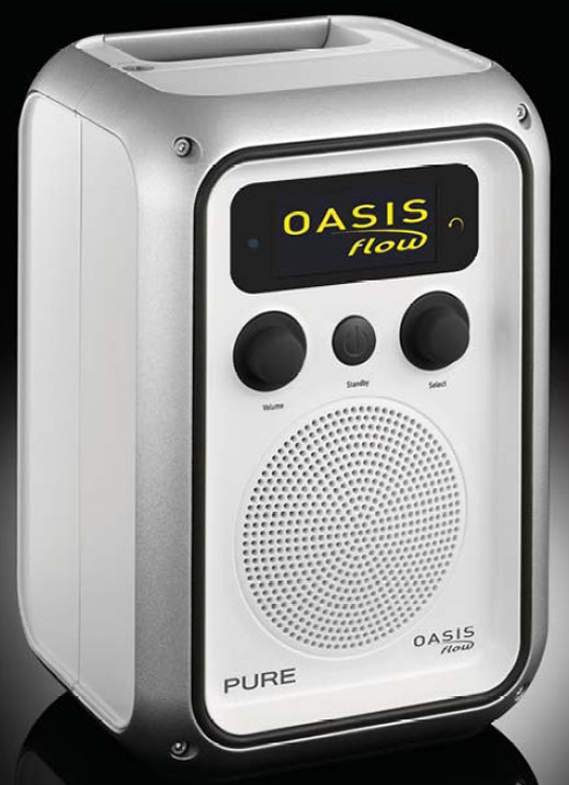Pure Oasis Flow DAB, FM and wi-fi internet radio
