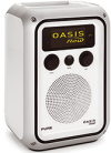 Pure Oasis Flow rechargeable DAB/DAB+/wi-fi internet radio with FM reception