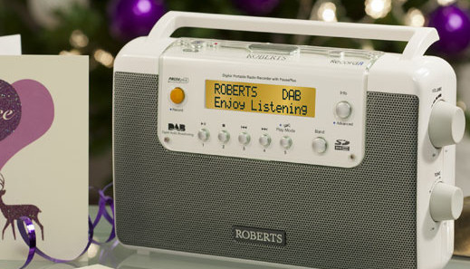 Roberts RecordR DAB/FM radio recorder with 4 timers and 4 separate alarms