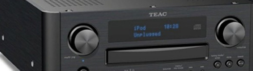 TEAC CR-H700i receiver with internet tuner