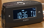 dab alarm clock radios with dimmable displays bedside with headphones radio. Black Bedroom Furniture Sets. Home Design Ideas