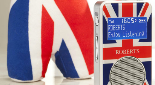 Roberts SportDAB specially-designed for the Jubilee
