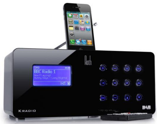 Roth Audio KRadio internet, DAB and FM receiver