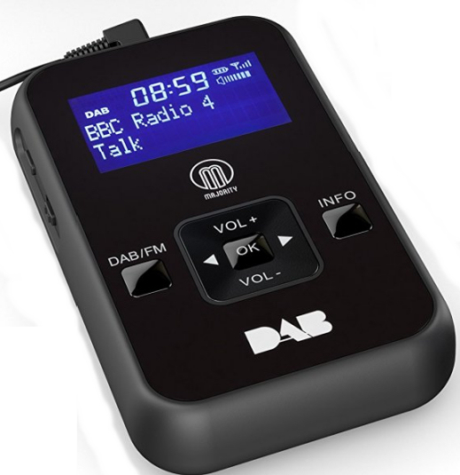 Majority Kite personal digital radio