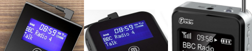 A range of affordable personal and pocket DAB digital radios