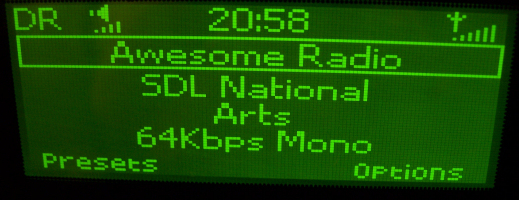 D2 testing now across the UK on DAB digital radio