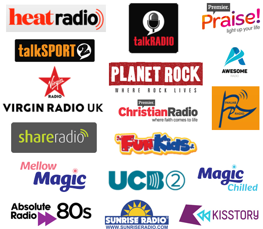 Why can't I tune to Planet Rock, Absolute 80s, Fun Kids, Magic Chilled or Union Jack?