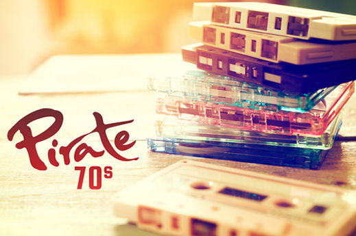 Pirate 70s station on-air now in Cornwall and Plymouth