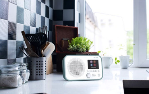 Pure Elan BT3 DAB digital radio with Bluetooth audio