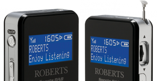 Roberts SportsDAB 6 best handheld DAB radio with a built-in speaker