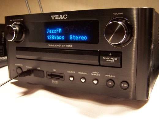 TEAC CR-H258i CD/DAB/FM hi-fi receiver with SD and USB slots