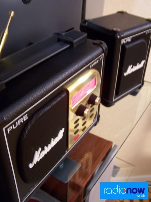 Pure Evoke 1-XT Marshall Edition with matching speaker