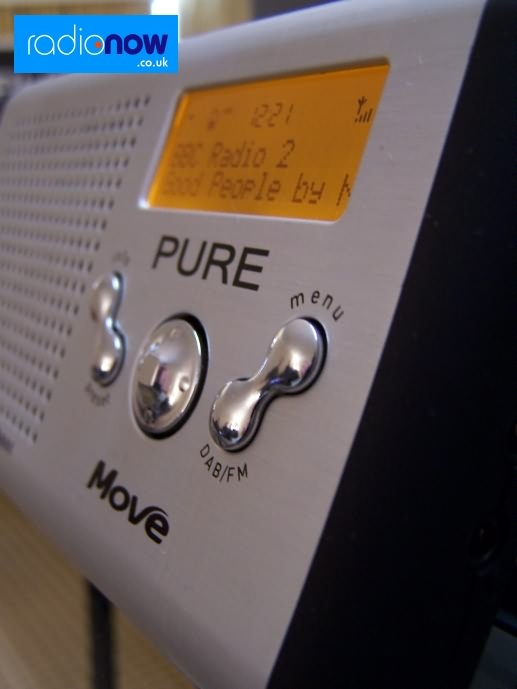 Pure Move DAB/FM radio
