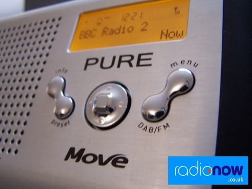 Pure Move DAB compact radio