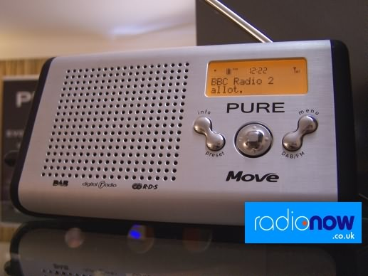 Pure Move DAB palmheld receiver