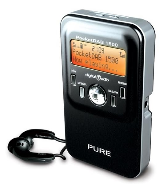 pure pocketdab 1500 dab digital radio radio. Black Bedroom Furniture Sets. Home Design Ideas